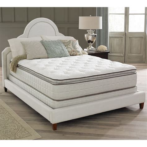 king size bed pillow top spring air premium collection noelle pillow top king size