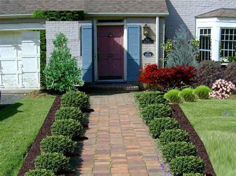 landscape designs for small front yards 1000 ideas about small front yards on small