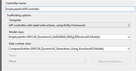 knockout template foreach dynamic ui in asp net mvc using knockout js and template