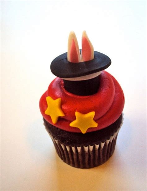 Cups Cake Magic 1000 images about magician toppers on fondant cake toppers rabbit and cupcake toppers