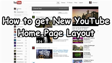 new youtube layout watch later how to get remove the new youtube homepage layout as of