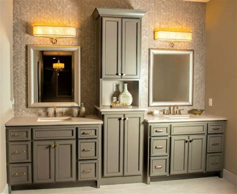 Bathroom Vanities With Matching Linen Towers Bathroom
