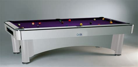 Century Silver 9ft Pool Sam K Steel American Pool Table 8ft 9ft Free Delivery Installation