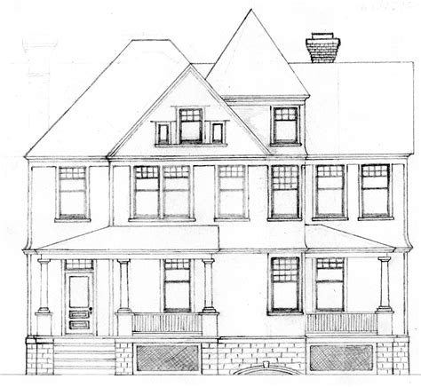 house drawings artistry and architecture just another