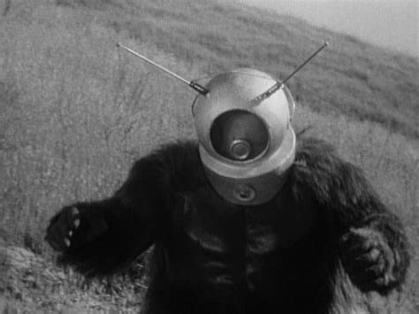 film robot monster bigfoot drives a flying saucer or the supernatural