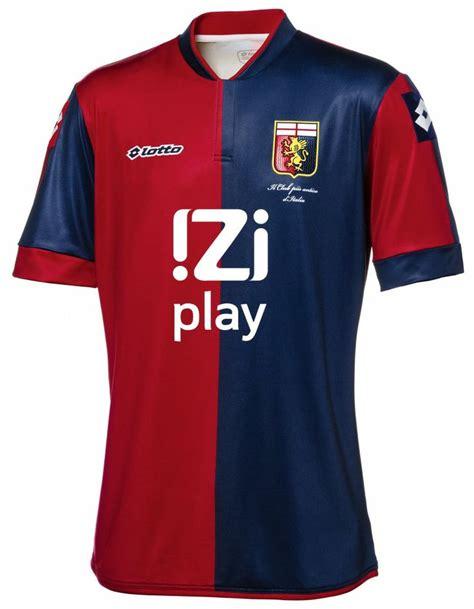 Jersey Retro Mu 98 99 genoa home kit 13 14 soccer jerseys