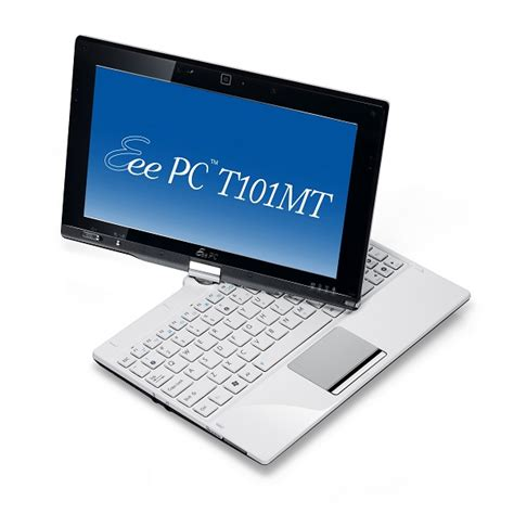 Led Netbook Asus netbook asus eee t101mt 10 1 quot led intel atom n570 2gb 320gb wifi bt w7hp white t101mt