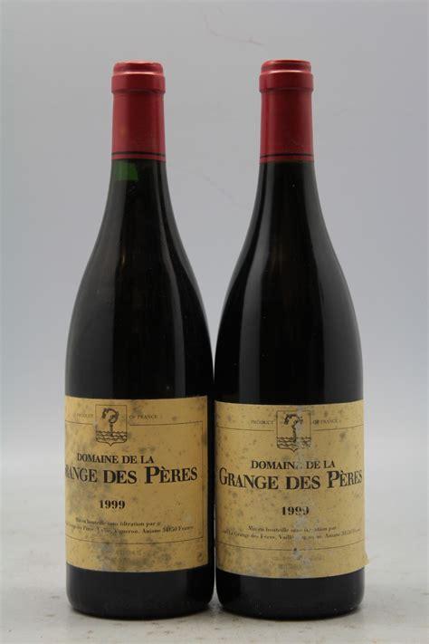 grange des peres grange des p 232 res 1999 promo 10 vins millesimes