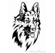 Design Stencils Bruce Lennon Tattoo Abstract Dogs Head Идеи