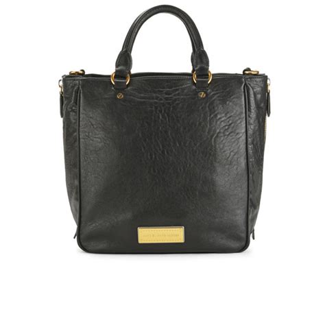 Marc By Marc Washed Utility Satchel by Marc By Marc Washed Up Leather Tote Bag Black