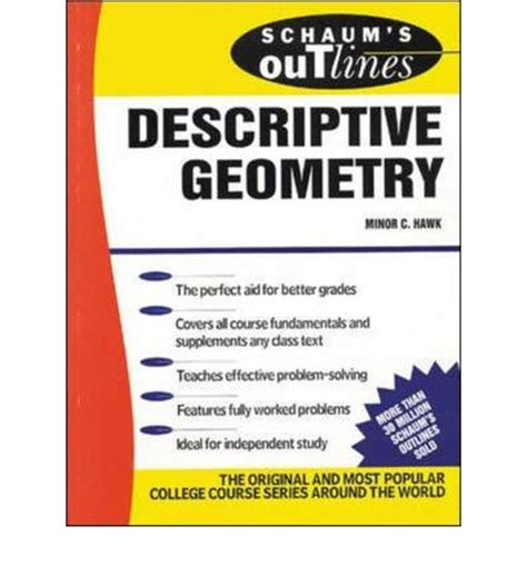 Schaums Outline Geometry Free by Schaum S Outline Of Descriptive Geometry