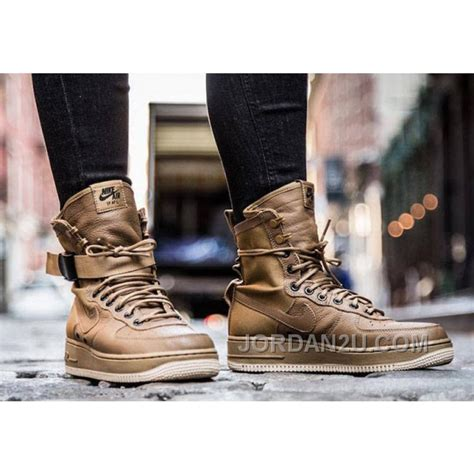 Nike Air 1 Special Field Wheat Brown nike special field air 1 af1 white black silver siliver wheat price 159 00