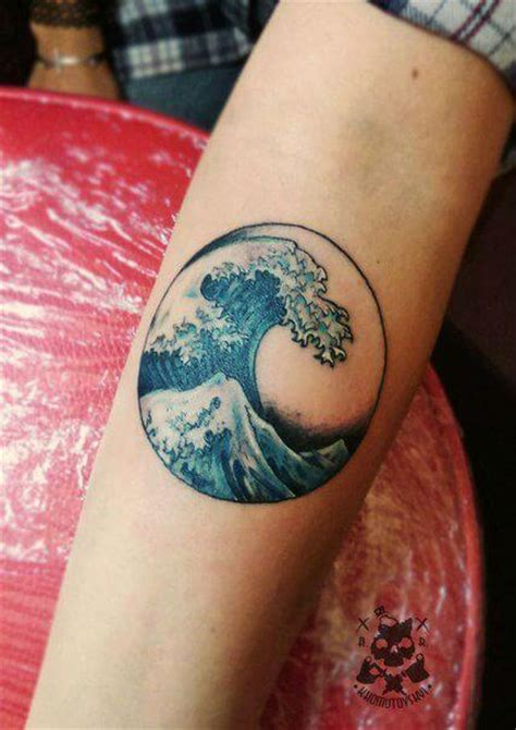 wave pattern tattoo wave tattoos for men ideas and inspiration for guys