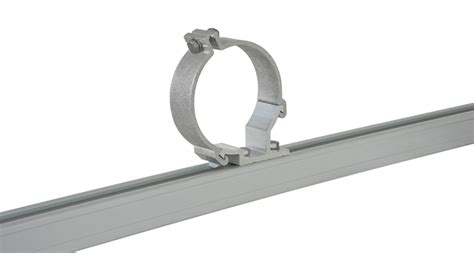 Bc Awnings Rhino Bc2 150mm Conduit Pipe Clamp Set 2 Bars Roof
