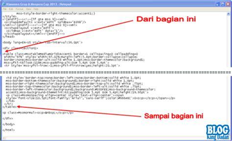 membuat tabel html menggunakan notepad cara membuat tabel di postingan blog menggunakan microsoft