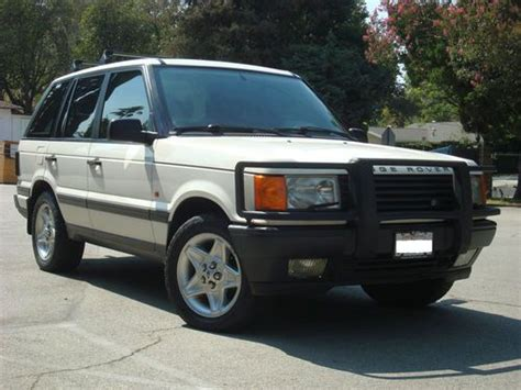 how to sell used cars 1996 land rover discovery electronic valve timing sell used 1996 4x4 range rover p38 4 6 hse v8 4wd alpine white land rover suv in southern