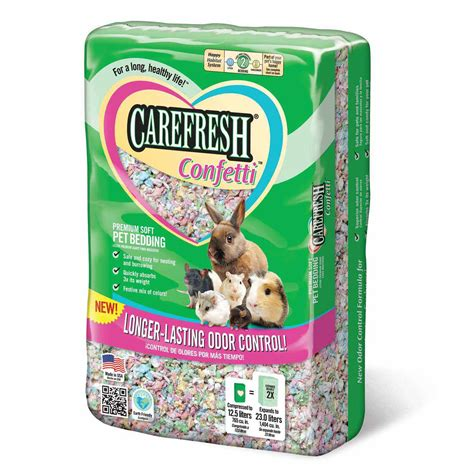 carefresh bedding carefresh confetti soft pet bedding 23 liters petco store