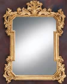 decorative mirror gold leaf mirror and louis xiv decorative mirror