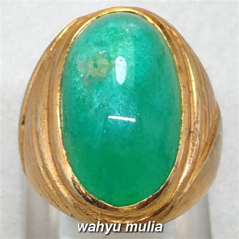 Cincin Batu Bacan Doko batu akik bacan doko asli kode 951 wahyu mulia
