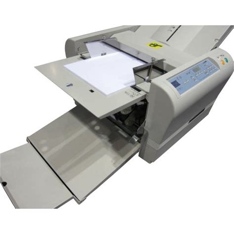 Automatic Paper Folding Machine - mbm 307a automatic tabletop paper folding machine free