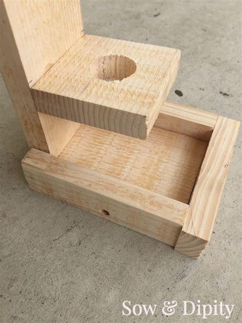 make all from wood diy bird feeder made from pallet wood hometalk
