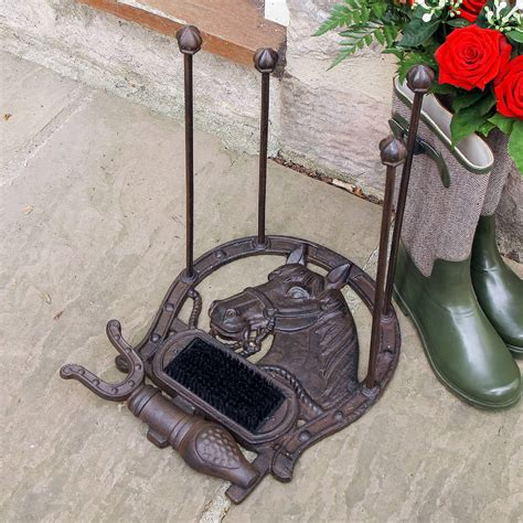 Headl Maestro 90 91 Twopieces Standart cast iron shoe holder with brush and scraper by dibor