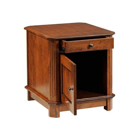 end tables with storage manero end table with storage countryside amish furniture