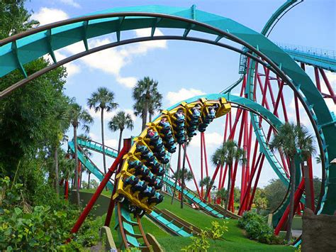 Bush Gardens Florida by Side Style Summer With The Holidays In Orlando
