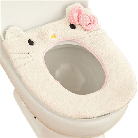 Toilet Seat Warmer 1pc Wc Warmer Toilet Seat Closestool Lid Cover Soft Pad