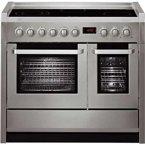 side by side oven side by side oven electric aeg competence c41022vm 100cm