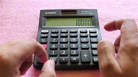 Casio Calculator Mj 12d casio mj 120d calculator review