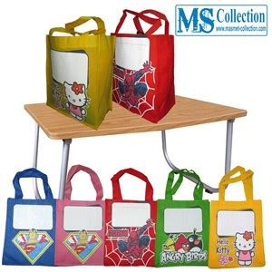 Tas Souvenir Ulang Tahun Gagang Bulat jual tas souvenir ulang tahun anak harga murah bogor oleh toko ms collection
