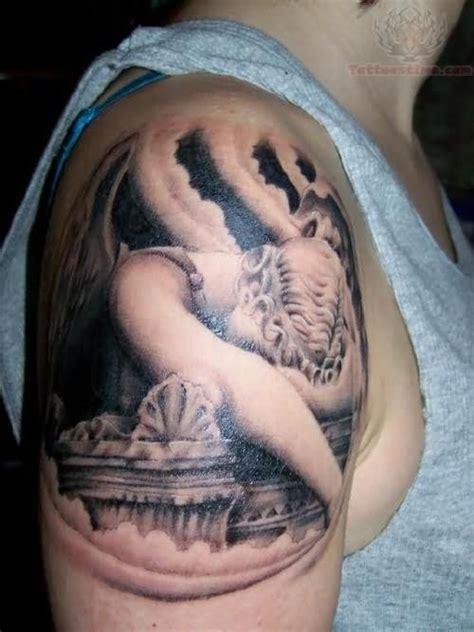 Guardian Angel Tattoo On Shoulder Guardian Tattoos For On Shoulder