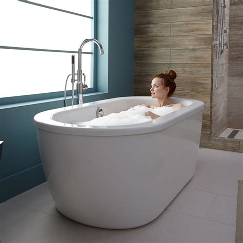 how big is a standard bathtub cadet freestanding tub american standard