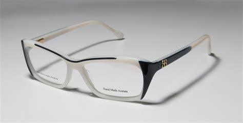 new balenciaga 0077 made acetate two tone womens eyeglass frame glasses ebay