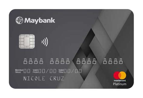 Credit Card Application Form Maybank Choose A Maybank Credit Card For You