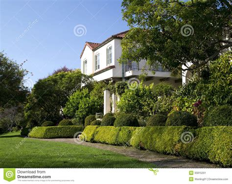 beautiful yard beautiful front yard of house stock image image 35815201