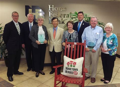 home federal bank names alfaro gray and keeler 2016