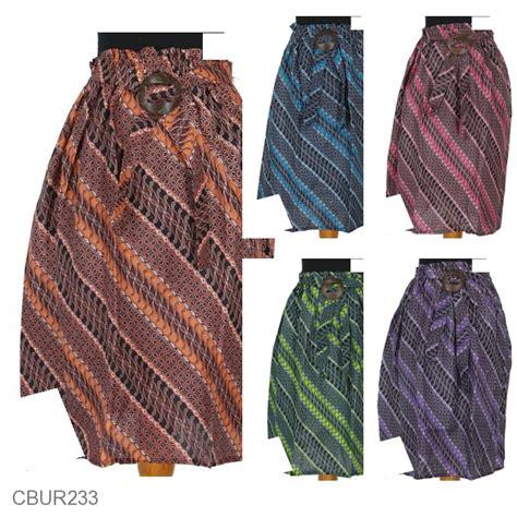 Rok Plisket Parang baju batik rok pendek motif parang baris kacang bawahan