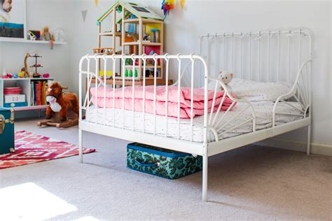 minnen bed letto ikea minnen minnen ext bed frame with slatted base