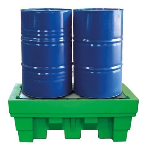 vasca in polietilene vasca in polietilene riciclato per 2 fusti