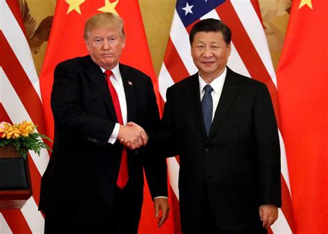 donald trump xi trump once critical from afar gives china a pass in