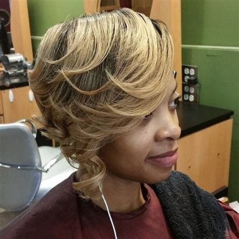 asymmetrical bob for thick hair gorgeous african american natural hairstyles popular