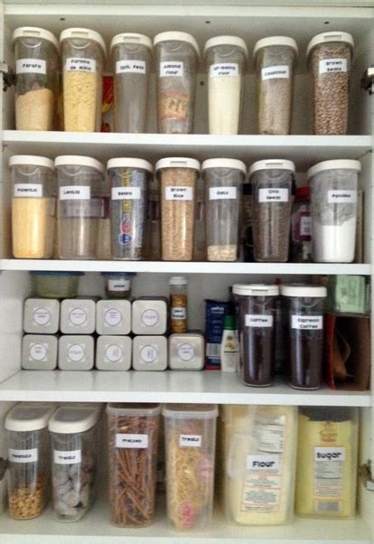 pantry cabinet ikea container  food storage