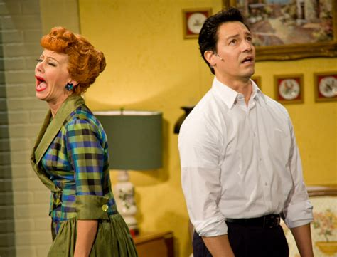 lucy ricky s film reviews theater review i love lucy live on stage broadway