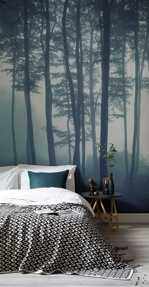 bedroom forest wallpaper only best 25 ideas about forest wallpaper on pinterest
