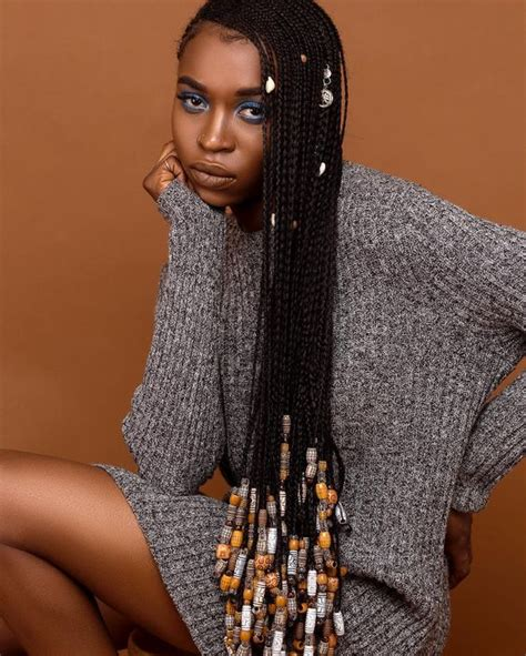 hairstyles with braids and beads braids with beads for african american new natural