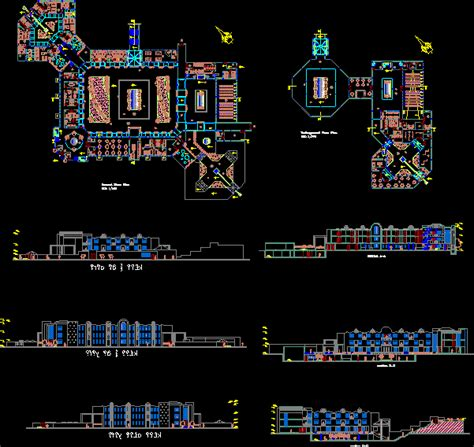layout hotel dwg tourist resort dwg full project for autocad designscad