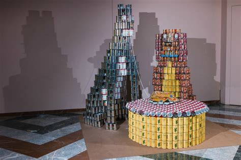 Canstruction Ideas see how top architects build sculptures from 100 000 cans