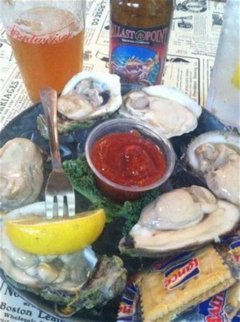 Palmetto Oyster House by Seafood Nachos Alligator Cheesecake Bild Palmetto
